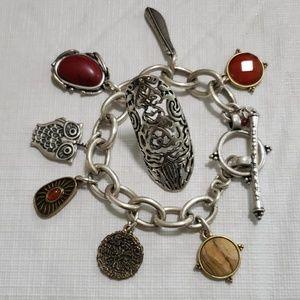Lucky Brand Bracelet and Ring Set
